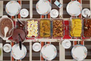Nasi dagang, Roti Jala & Kuzi