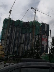 windmill upon hills genting permai progress september 2018