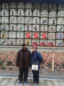 parents at yoyogi park