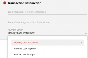 CIMB Home Loan Reduce Principal via CIMB Clicks