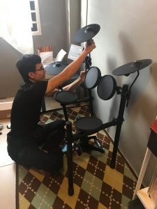 Yamaha Digital Drum installation by Yamaha Setia Alam