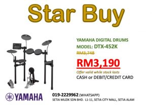 Yamaha Setia Alam DTX-452K