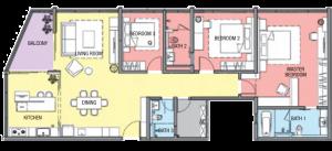 geo 38 residence layout Type C