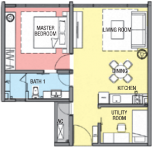 geo 38 residence layout typical Type A