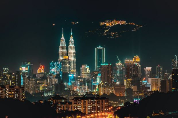Wow Nice Photo Of Genting Highlands At The Background