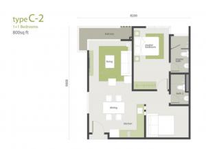 midhills layout type c