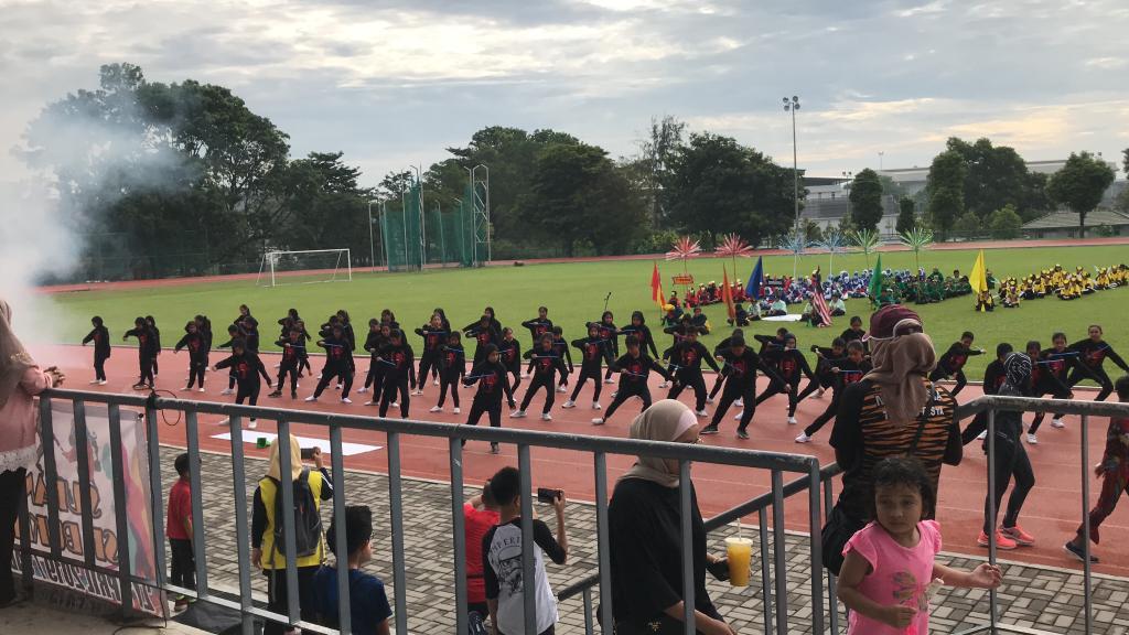 sk bukit jelutong sport day 2019 show