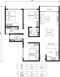 vista residence layout