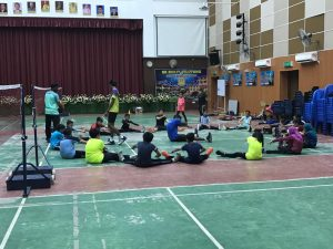 SKBJ Badminton Elite Club Stretching