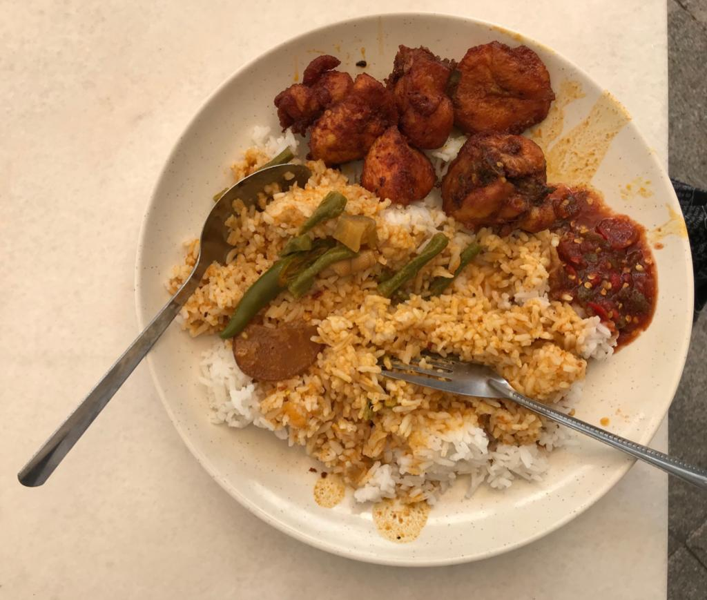 Nasi Cincang Kak Wok At Putrajaya