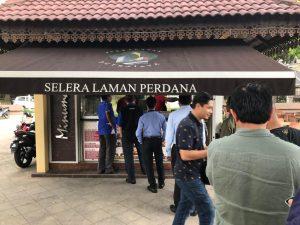 Nasi Cincang at Selera Laman Perdana