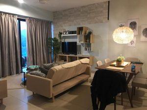 midhills genting living room area