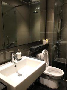 vista residence genting master bathroom