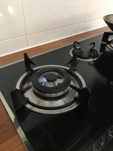 elba new gas burner