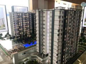 embayu damansara west scale model block A & block B