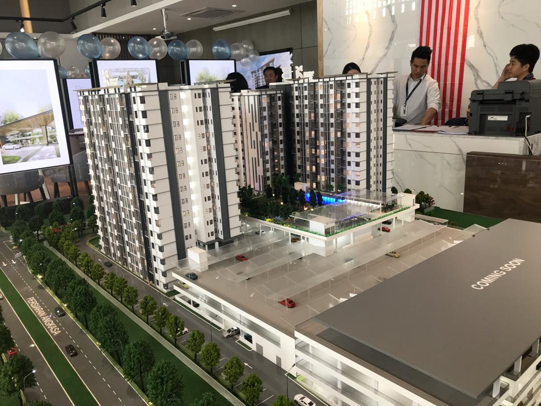 embayu damansara west scale model