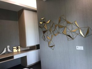 embayu damansara west show unit - master bedroom