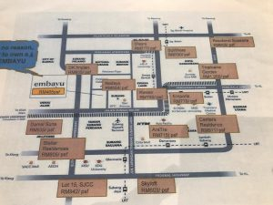 embayu damansara west surrounding price per sqft