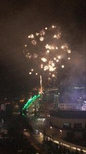 fireworks 2020 from windmill upon hills genting permai
