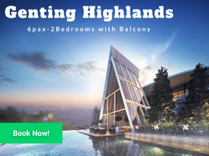genting highlands homestay for 6 pax