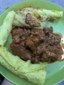 Kuzi Ayam + Roti Jala