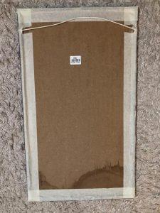 toilet mirror - masking tape