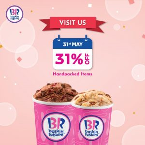 baskin robbins discount 31 may 2020