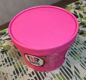 baskin robbins half gallon
