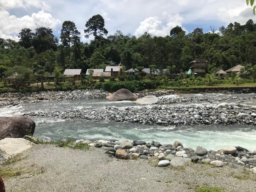 Melangkap Kota Belud Sabah Clear, Clean & Beautiful River Stream
