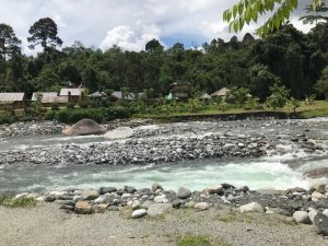 melingkap kota belud cold clean and beautiful river stream