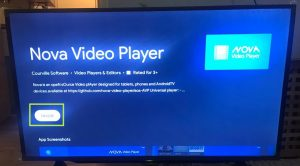 sharp aquos android tv install nova video player
