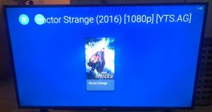 sharp aquos android tv nova player doctor strange