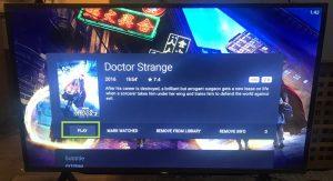 sharp aquos android tv nova player play