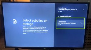 sharp aquos android tv nova video player select subtitle with underscore