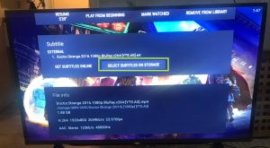 sharp aquos android tv nova video player subtitle