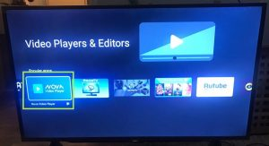 sharp aquos android tv select nova video player