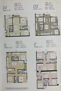 tropicana grandhills twin pines layout D E F