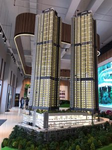 tropicana twin pines genting highlands scale model