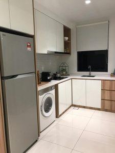tropicana twin pines kitchen washing machine fridge layout 2