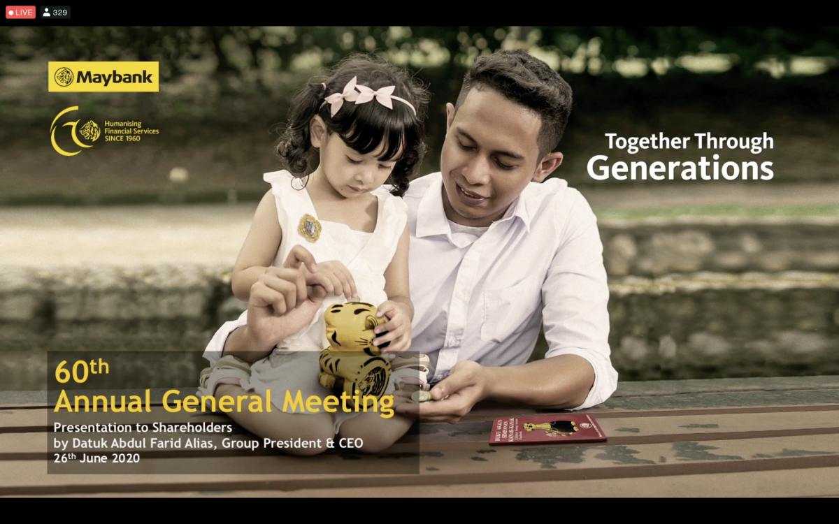 maybank 60th annual general meeting
