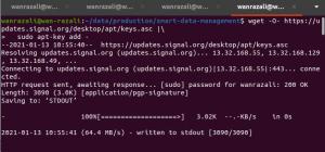 signal desktop install ubuntu - signing key
