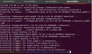 signal desktop installation ubuntu successful