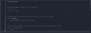 godot grid movement - remove all codes except extends Sprite