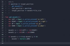 godot grid movement - script part 2