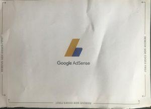 google adsense - letter back