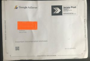 google adsense - letter front