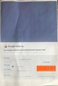 google adsense - letter inside code
