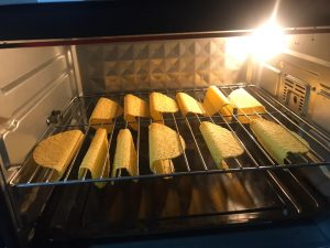 preheat Taco shells in oven